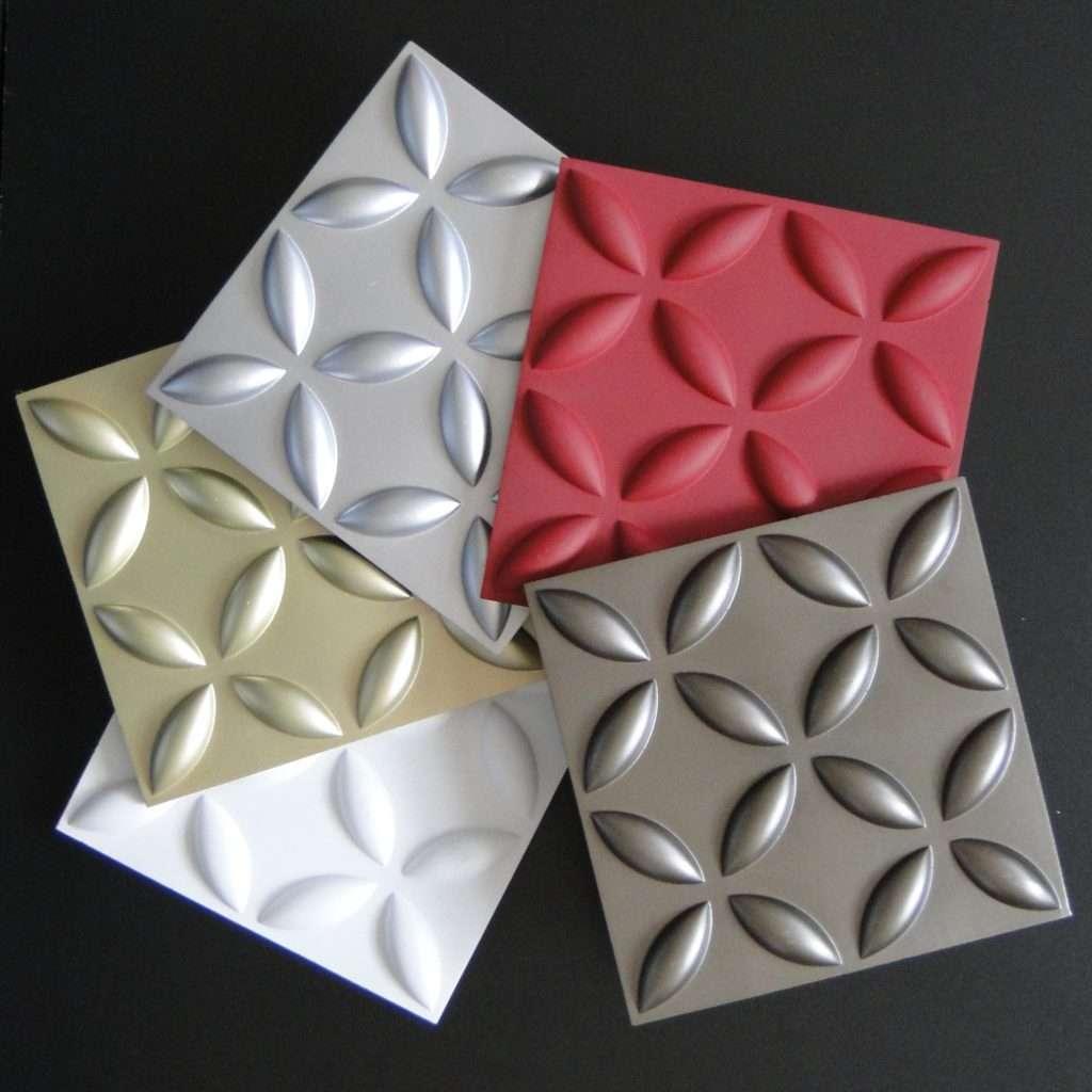 Пластиковые формы для фасадной плитки 3D
