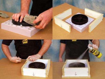 Правило заливания полиуретана в матрицу при изготовлении полиуретановой формы