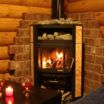 Печь для водяного отопления дома на дровах