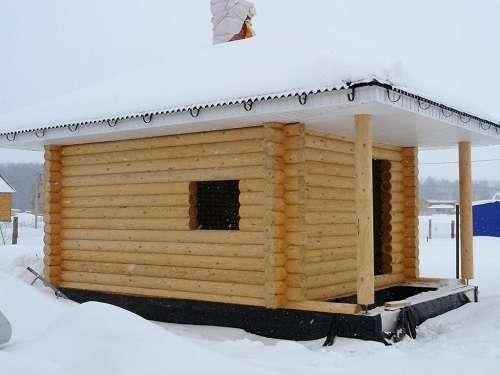 как построить баню на даче своими руками недорого видео