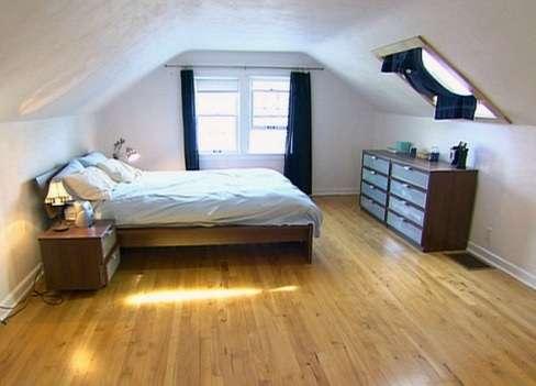 Фото как сделать комнату на чердаке