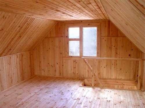 как из чердака сделать жилую комнату