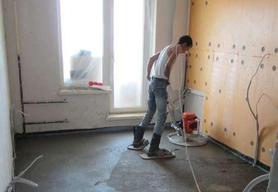 Как сделать стяжку пола в квартире от и до