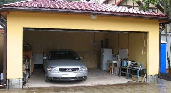 Строим гараж своими руками
