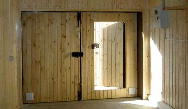 Готовим гараж к зиме как ворота помогают сберечь тепло