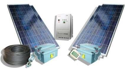 Батареи и коллекторы, работающие на природном освещении становятся доступными все большей части населения способом добычи электричества и тепла.